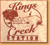 Kings Creek Station - Accommodation Australia