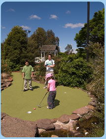 Wetlands Mini Golf - Accommodation Australia
