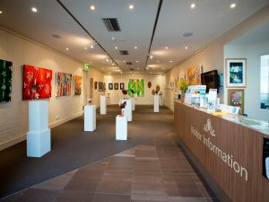 Australian National Botanic Gardens Visitor Centre Gallery - Accommodation Australia